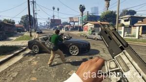 Вид от первого лица в GTA V