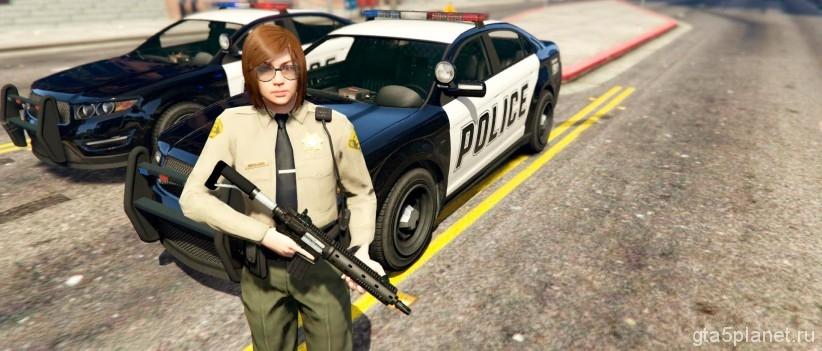 Игра за полицейского GTA 5