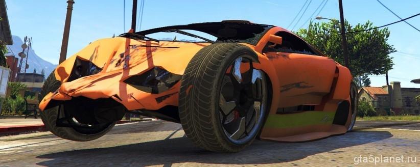 Реалистичные повреждения GTA 5