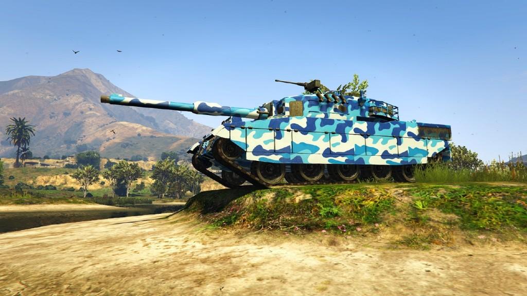 Новые текстуры танка