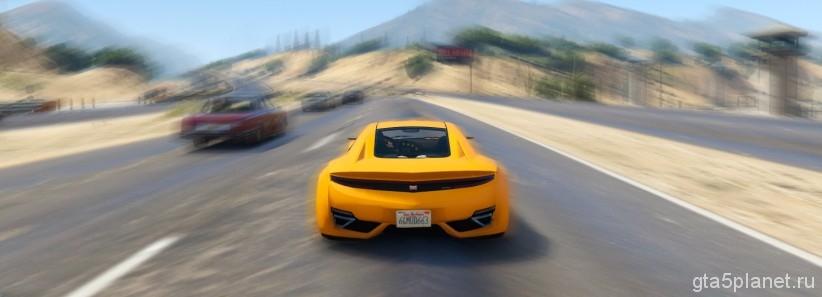 Мощность двигателя мод GTA 5