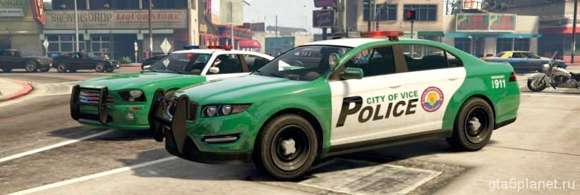 Полиция Вайс-Сити GTA5