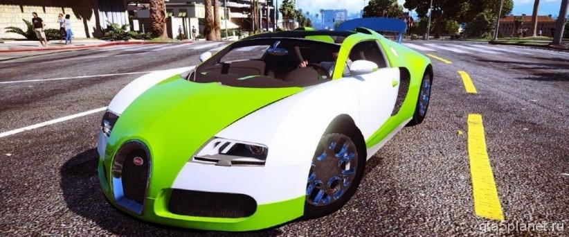 Bugatti Veyron - Grand Sport
