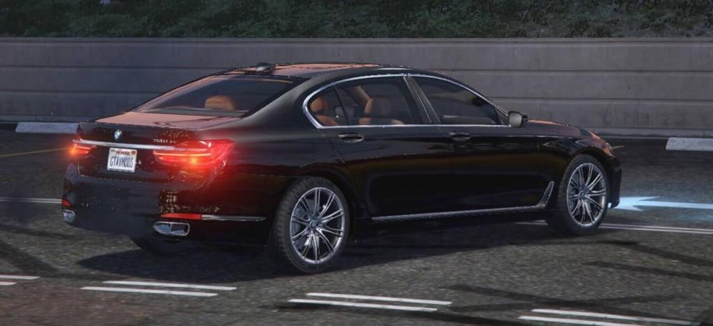 BMW 7 в GTA5