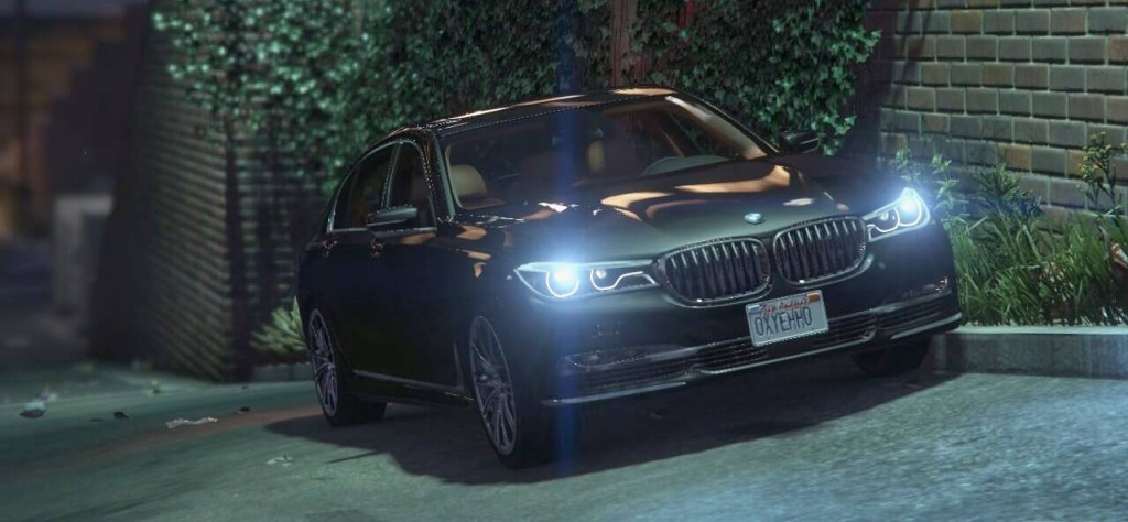 GTA5 BMW 7