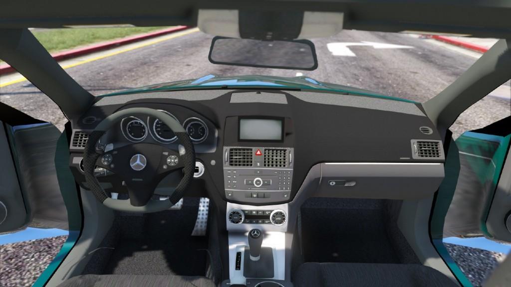 Mercedes-Benz C63 AMG GTA 5