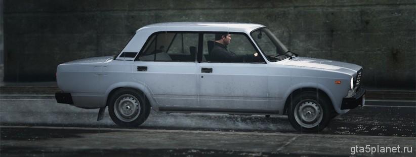 Русские машины gta 5 ВАЗ 2107