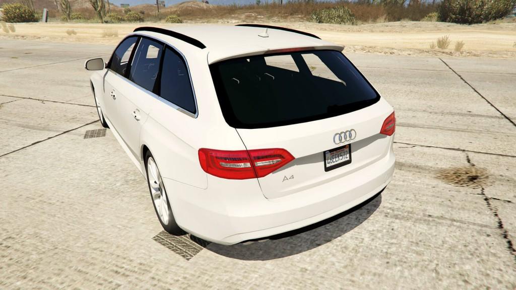 Audi A4 Avant вид сзади GTA