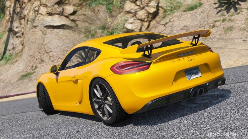Porsche Cayman GTA 5