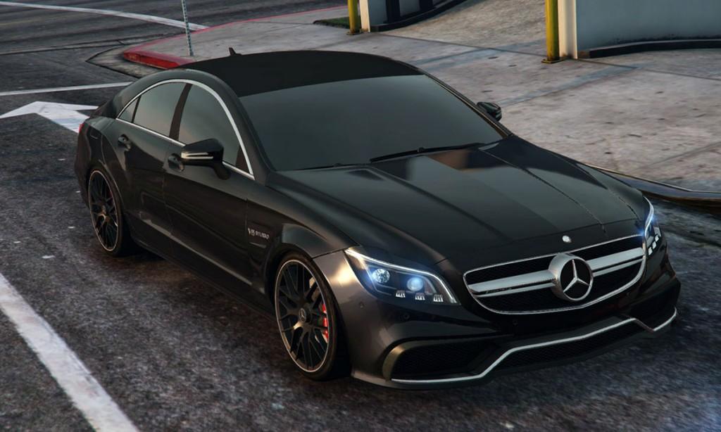Mercedes-Benz для GTA 5